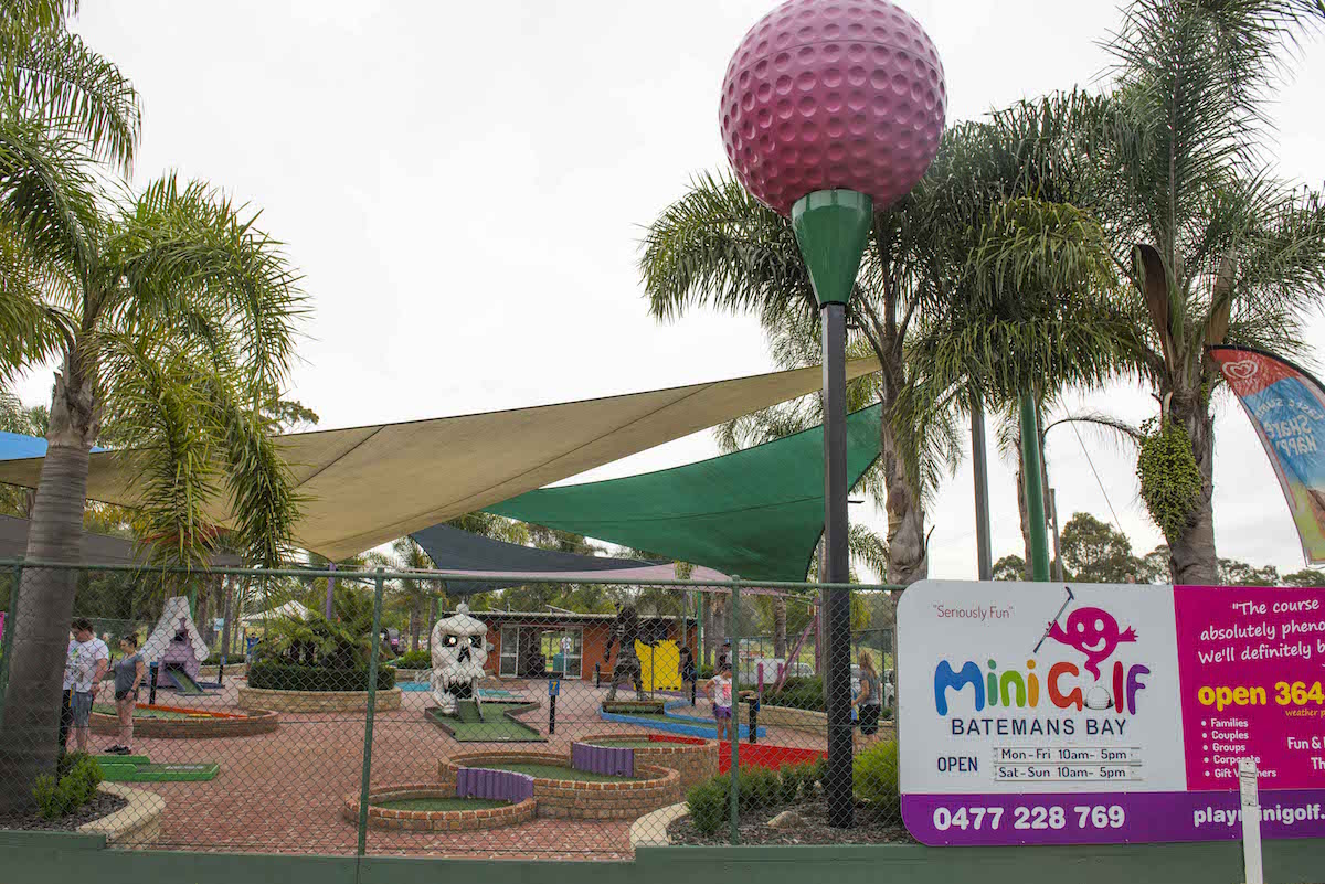 Mini golf, South Coast attractions