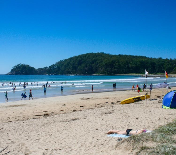 South Coast NSW beaches, Denhams Beach