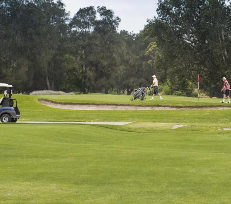 Golf Course, NSW South Coast