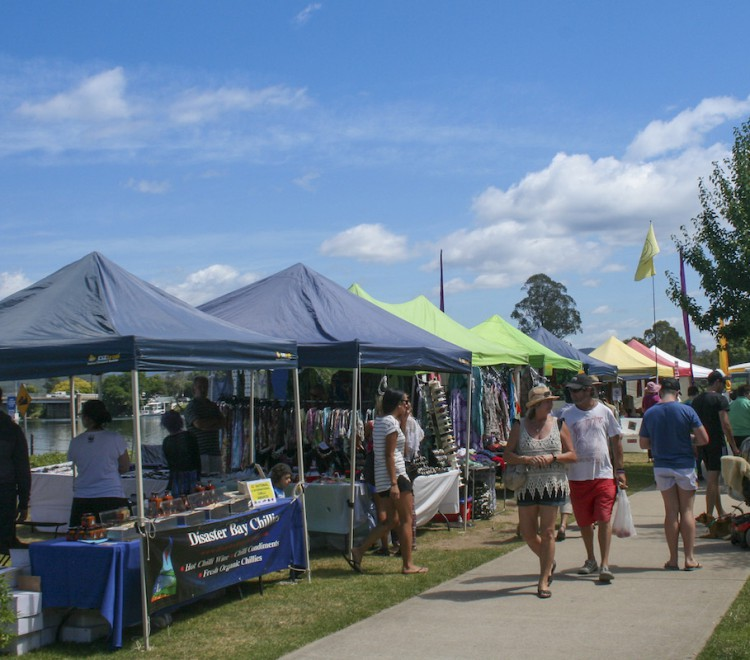 Local markets, Dehams Beach NSW